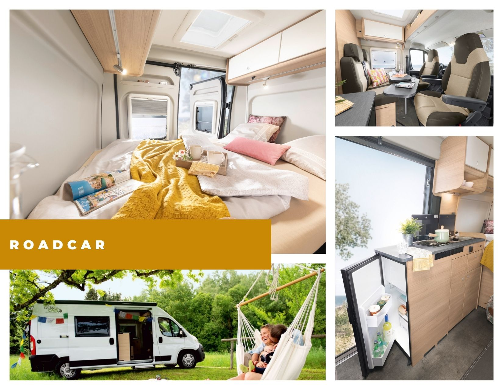 Roadcar R540 con techo elevable