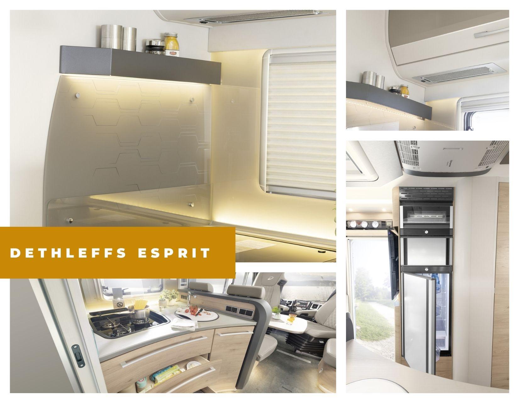 Dethleffs Esprit cocina