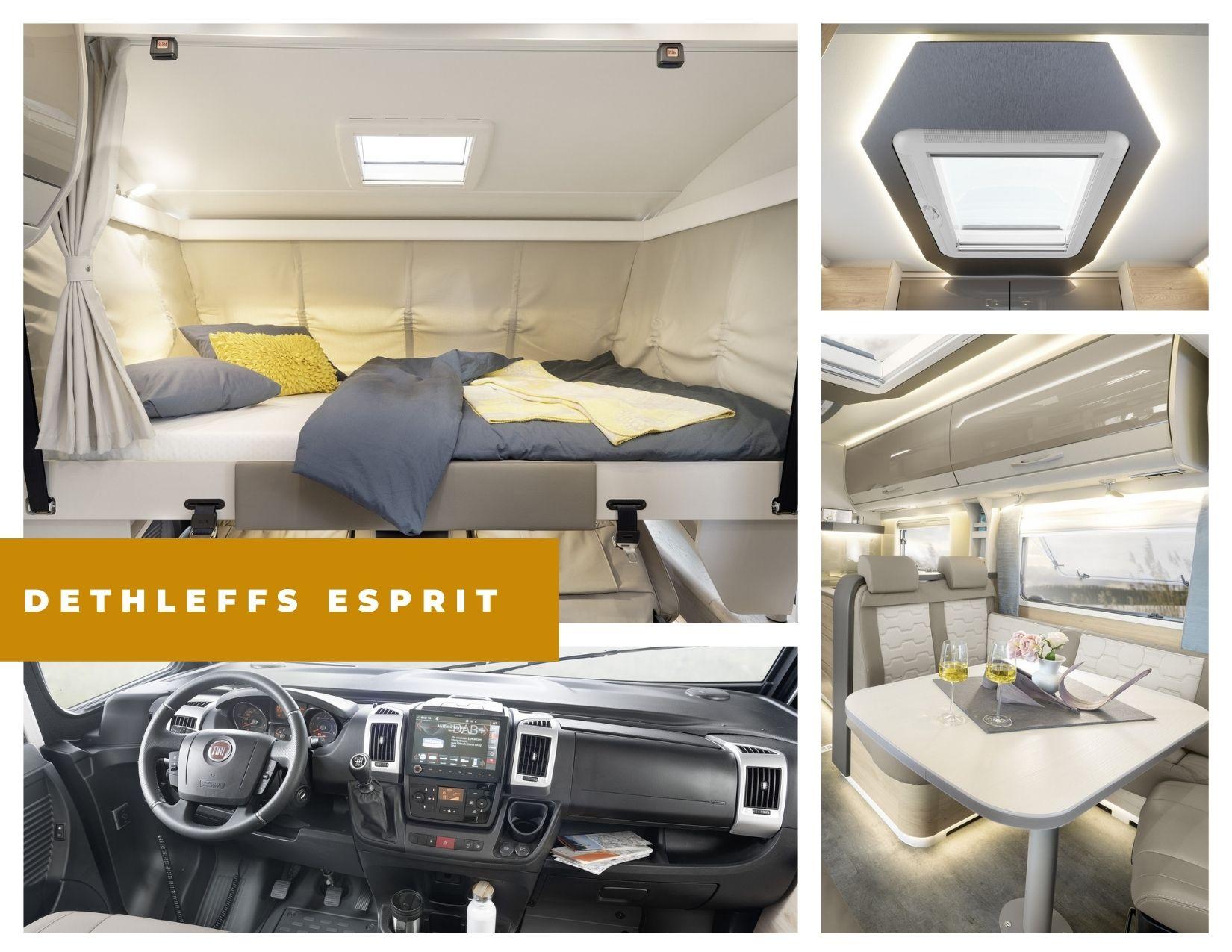 Dethleffs Esprit detalles interior