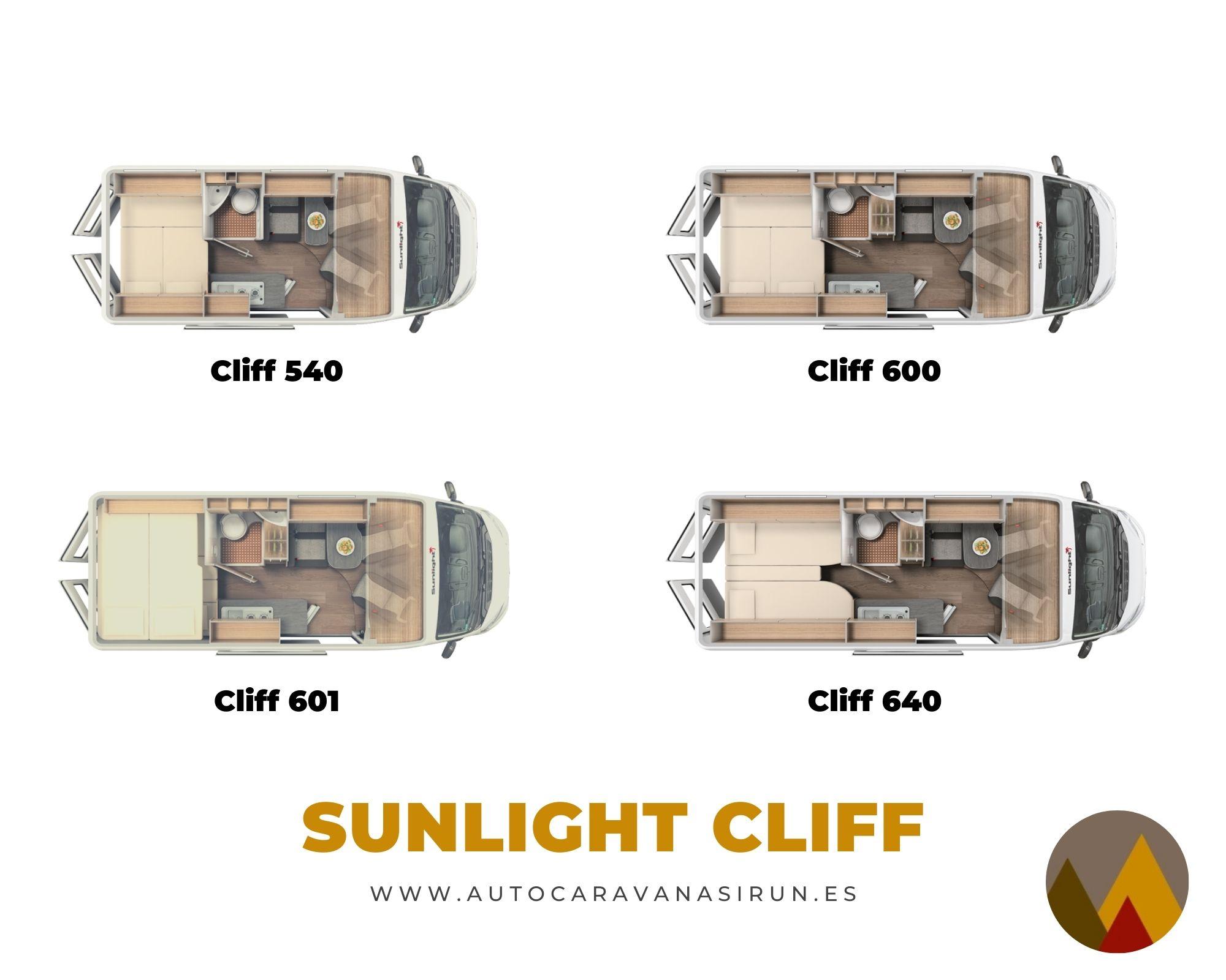 Sunlight Cliff modelos